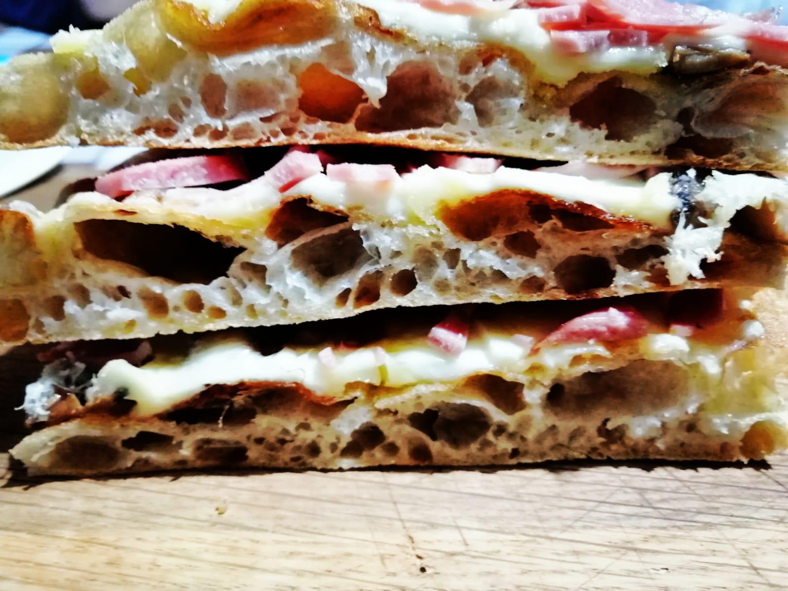 Pizza Mortazza Pecorino