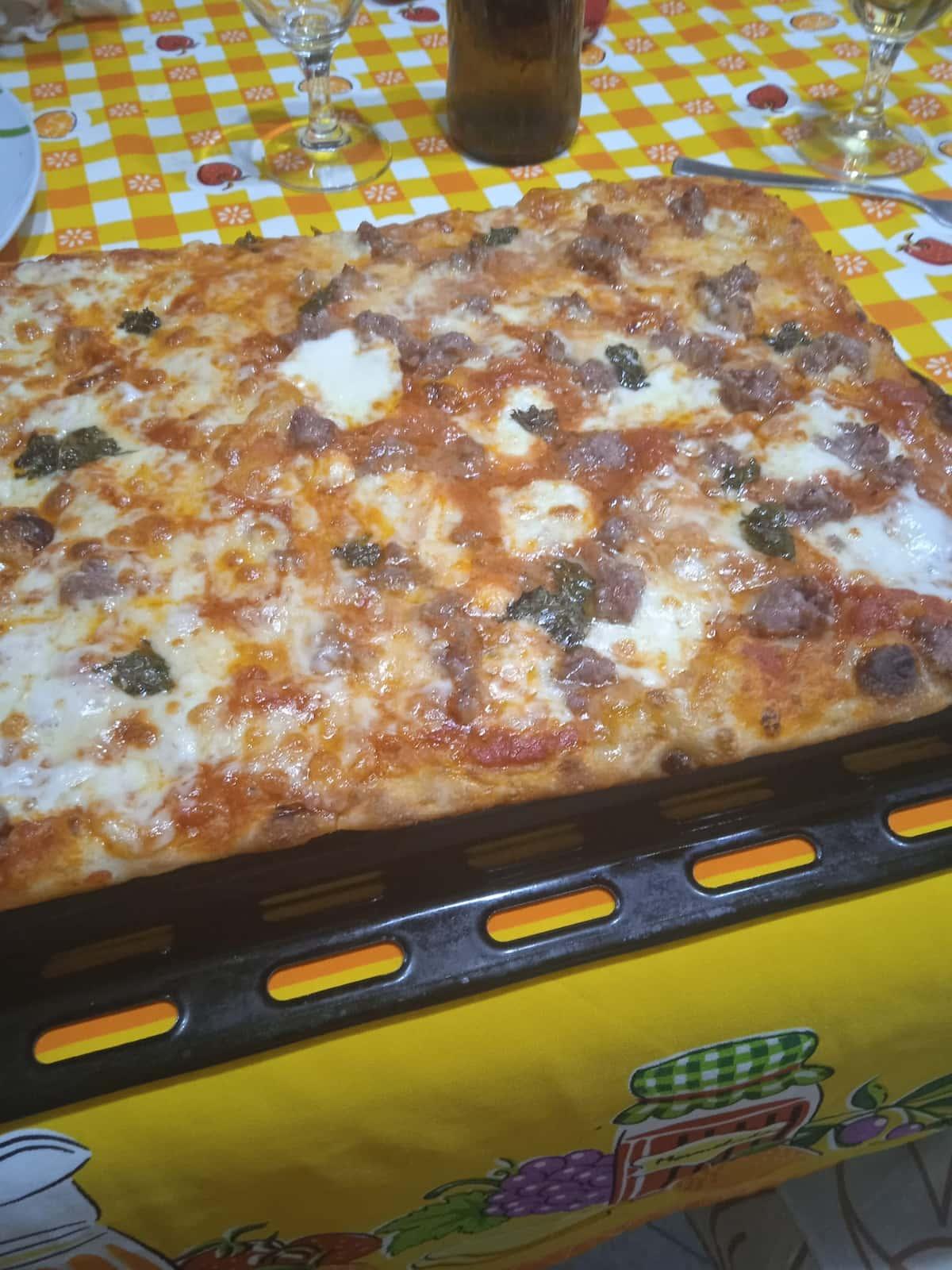 Pizza saporita